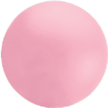 Giant Cloudbuster Balloon - 4ft Shell Pink